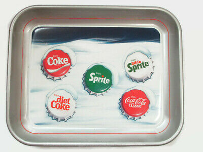 Coca-Cola 1986 Snow Cap Bottle Cap Tray issued 1986 New Coke Vintage