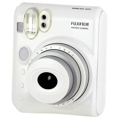 New Fuji Instax Mini 50S Instant Camera - White