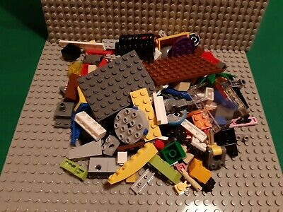 Genuine Lego 400g of mixed parts & pieces. Cleaned & Sanitised. New & Used.