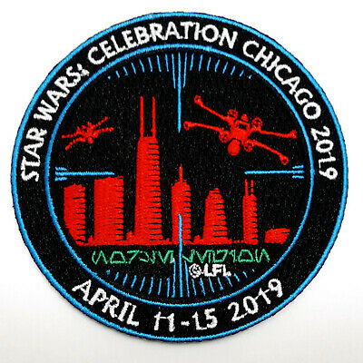 "2019 Star Wars Celebration Chicage 4"" Patch-Unused (SWPA-27)"