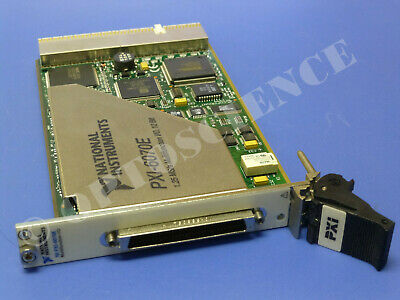 National Instruments PXI-6070E NI DAQ Card, Analog Input 1.25Ms/sec