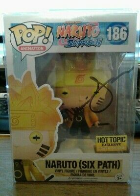 Funko Pop Naruto Six Path Hot Topic Exclusive Gitd (Signed By Voice Actress)
