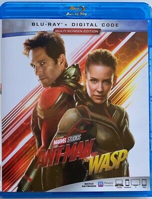 Marvel Ant Man And The Wasp Blu Ray Free World Wide Shipping But It Now  Action