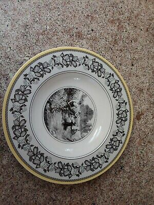 """Villeroy Boch Audun Rimmed Soup Bowl 9½"""" new with no tag."""
