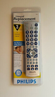 **Brand New** Philips Universal Replacement Remote Control (PM335)