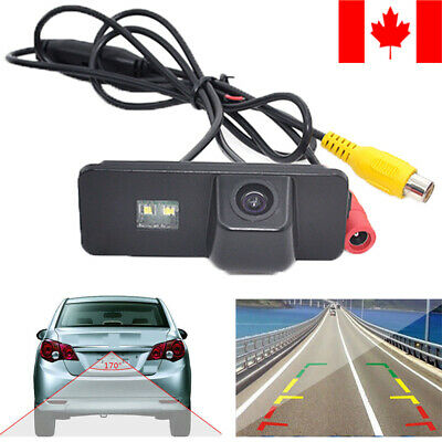 170° Waterproof Monitor Car Reverse Rear View Parking Backup Camera