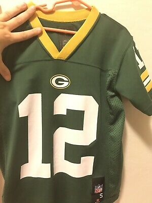 online store 78184 8bcf9 REEBOK GREEN BAY Packers AARON RODGERS NFL Jersey Youth ...