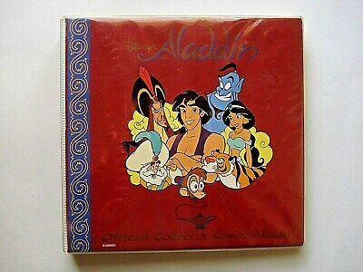1993 Dynamic *Disney's Aladdin* Complete 100 Card Set + 5 Gold Cards + Album