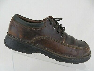 d9ab4f946640b CLARKS ACTIVE AIR Mens Size 8.5 Oxford Shoes Lace Up Tan Suede ...
