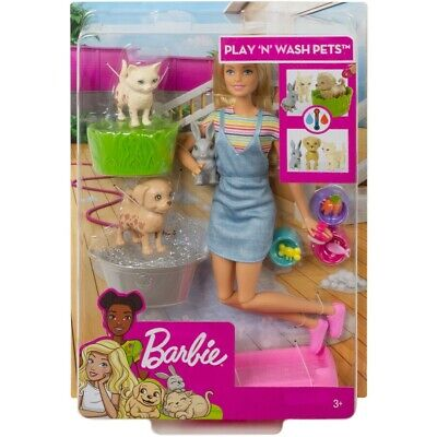 Barbie Play N Wash Pets