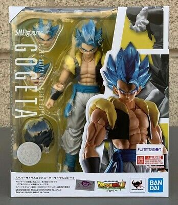 Bandai SH Figuarts Dragon Ball Super God Super Saiyan Gogeta Action Figure