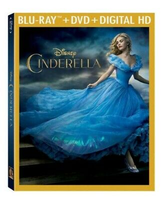 Cinderella [Blu-ray + DVD + Digital HD] (Bilingual) *NEW**