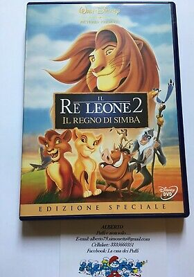 Il re leone 2 dvd