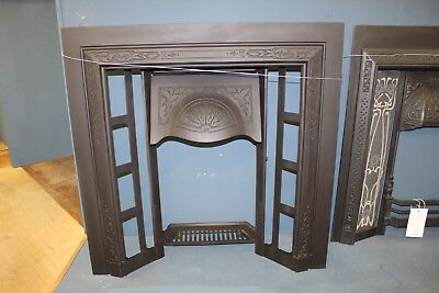 Reclaimed Cast Iron Fire Place Without Tiles (Rec378)