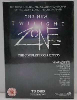The New Twilight Zone: Complete 80's DVD Box Set Seasons 1,2,3- New & SEALED
