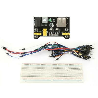 New MB102 Solderless Breadboard buses Test Circuit Module Kit free shipping HQ