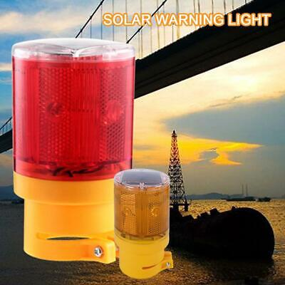 Solar 6 LEDs Strobe Warning Light Control Work Zone Traffic Beacon Lamp Strobe