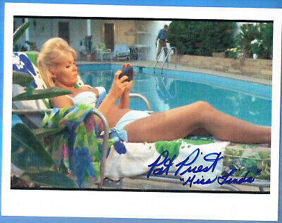 Authentic Hand Signed Autographed 8x10 Photo Pat Priest Elvis Presley Easy come