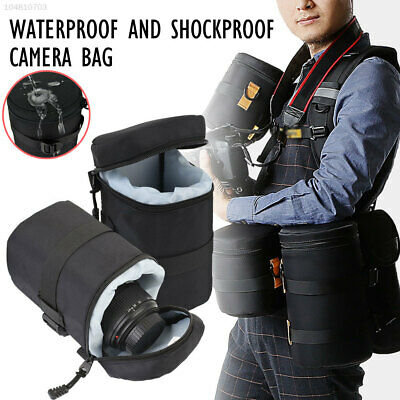 94A6 Shockproof SLR Camera Lens Protector Case Travel Camping Climbing Hiking