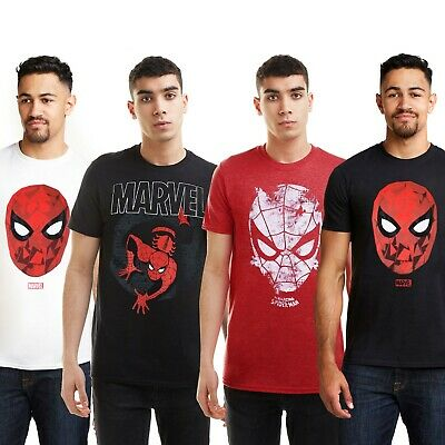 Marvel - Spiderman Spider-Man Superhero Movie Mens T-shirts - Sizes S-XXL