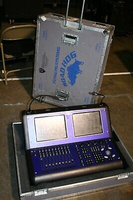 Road hog full boar 3 lighting console with ata case