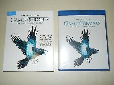 Game Of Thrones ( Complete 1St Season ) Blu Ray + Digital ( Walmart Limited Ed )