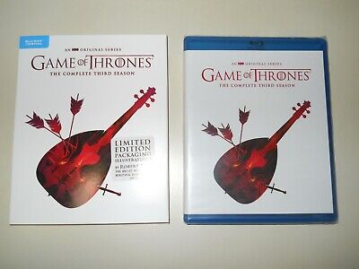 Game Of Thrones ( Complete 3Rd Season ) Blu Ray + Digital ( Walmart Limited Ed )