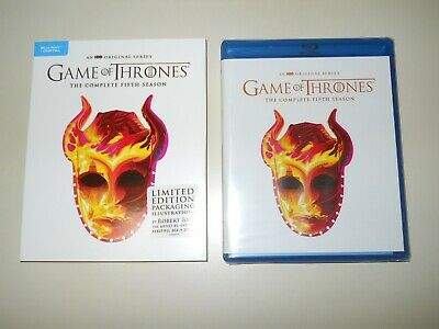 Game Of Thrones ( Complete 5Th Season ) Blu Ray + Digital ( Walmart Limited Ed )
