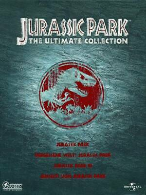 Jurassic Park 1-3  (Ultimate Collection, 4 DVDs) [DVD] [2001] gebraucht-gut