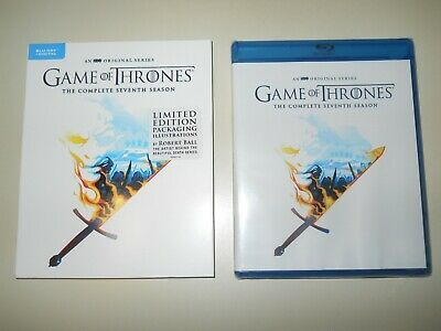 Game Of Thrones ( Complete 7Th Season ) Blu Ray + Digital ( Walmart Limited Ed )