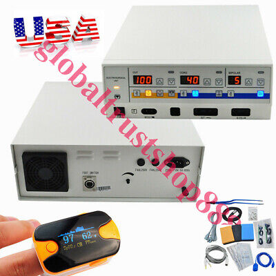 Medical Electrosurgical Unit Diathermy Machine Surgery Cutter Electrocautery USA