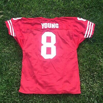 acdc95701 Throwback Steve Young #8 Sz. Large San Francisco 49ers Wilson NFL Jersey!