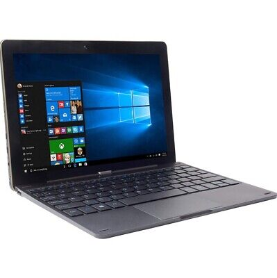 "NEW!! iOTA One 10.1"" 2-in-1 Laptop Intel Atom 2GB RAM 32GB eMMC Windows 10"