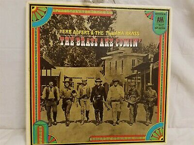 Herb Alpert & The Tijuana Brass - The Brass Are Comin - Vintage Vinyl Lp