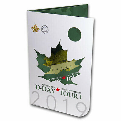 2019 6-Coin Canada 75th D-Day Commemorative Collector Keepsake - SKU#191348