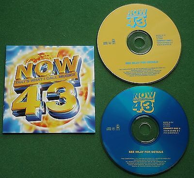 Now That's What I Call Music 43 Madness Honeyz Culture Club Supergrass + 2 x CD