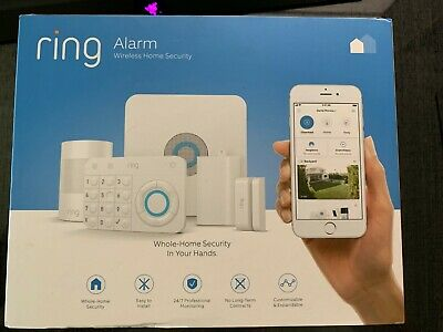 Ring Alarm Home Security System - NEW 5 PIECE KIT: Base Keypad Motion Contact