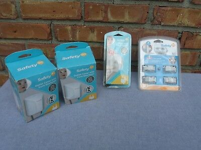 Safety 1st Baby Protection Mixed lot Plug Outlet Covers cabinet latches
