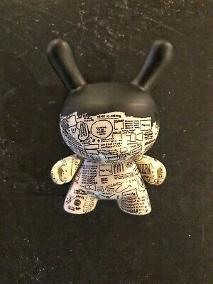 Jean-Michael Basquiat Dunny Mini Series by Kidrobot Two Sided Coin