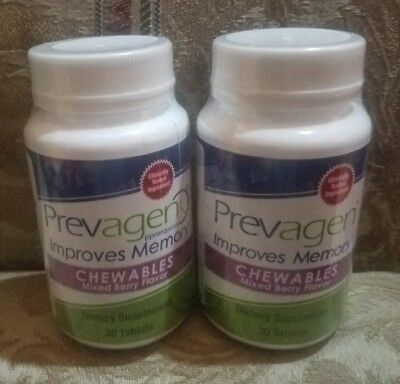 2-PREVAGEN Chewables Mixed Berry 30 Tablets Each