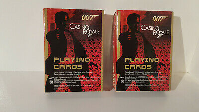 Lot 256 Carta Mundi 007 James Bond Casino Royale 2 X