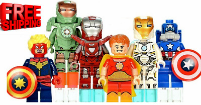 Lego Avengers 250+Minifigures Marvel DC X-Men SuperHeroes Tony Stark Ghost Rider