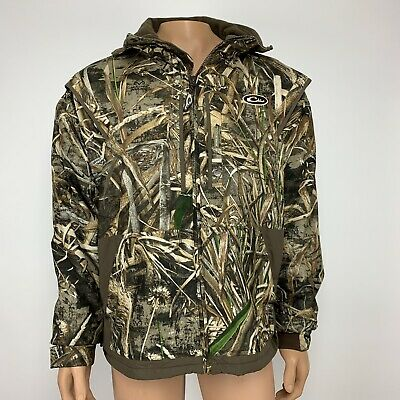 5839f2a60490f Drake Waterfowl Fleece Lined Full Zip 2.0 Hunting Jacket Men's Large Real  Tree