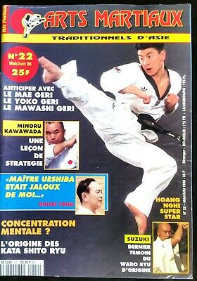 Arts Martiaux Traditionnels n°22; Minoru Kawawada/ Concentration mentale/ Suzuki