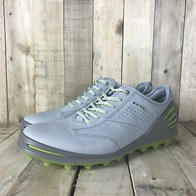 58aacb572ebdb ECCO Cage Pro Hybrid Golf Shoes Mens Size 44 10-10.5 Dritton Leather  Concrete