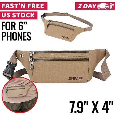 Travel Money Belt Hidden Wallet Under Clothes Waist Pouch Holder Secure Purse