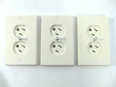 Lot of 3 Safety 1st Swivel Outlet Cover WC-1 Electrical Sockets Are Baby Proof