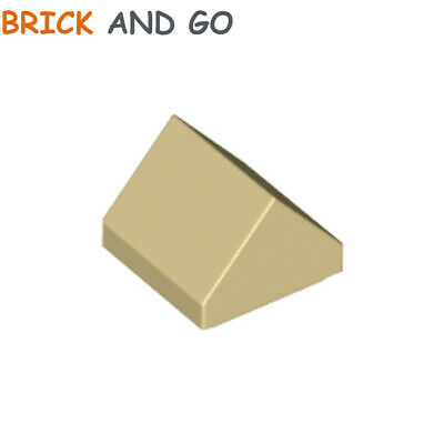 Brick Yellow NEW Lego ID 35464 Nineteen 1x1x 2//3 Ridge Tile