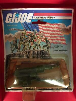 1983 Vintage Hasbro Gi Joe Arah Hal Heavy Artillery Laser Die-Cast Metal Vehicle