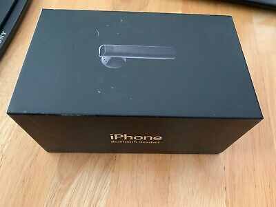 680f5df6172 Old Stock Apple iPhone 1st Generation 2g Bluetooth Headset Rare Collectible  2007